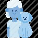 kid, dog, child, girl, pet, love, family