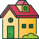 home, building, house, family, property, estate, people