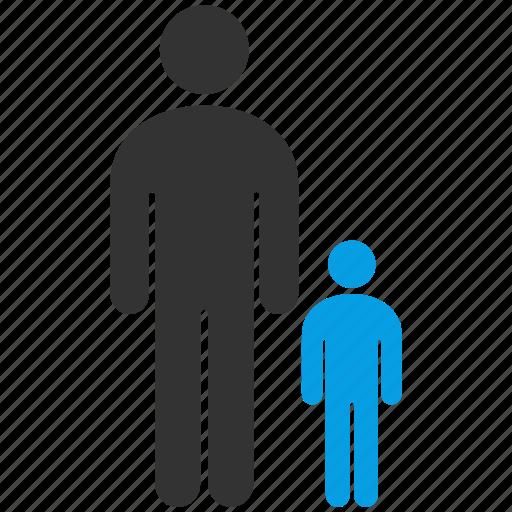 child, children, dad, familiar, family, father, kid icon