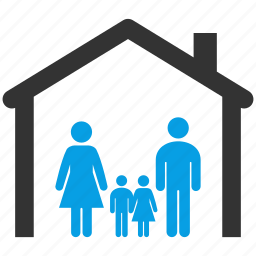 children, estate, family, father, home, morther, social icon