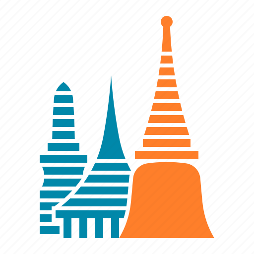 Bangkok, kaew, phra, temple, thailand, wat icon - Download on Iconfinder