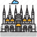 basilica, cathedral, church, italy, saint mark basilica, st mark basilica, venice icon