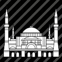 turkey, hagia, istanbul, sophia