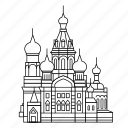 basils, moscow, russia, st icon