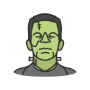 halloween, frankenstein, zombie icon