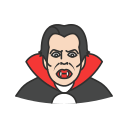 blood sucking, dracula, halloween, vampire icon