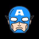 avengers, captain, captain america, super hero icon
