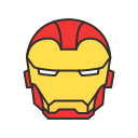 avengers, iron man, marvel, super hero icon
