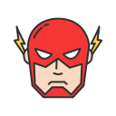 comics, dc comics, hero, the flash icon
