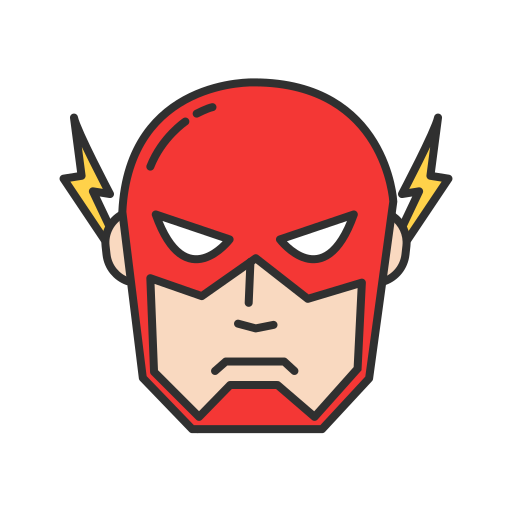Comics, dc comics, hero, the flash icon - Free download