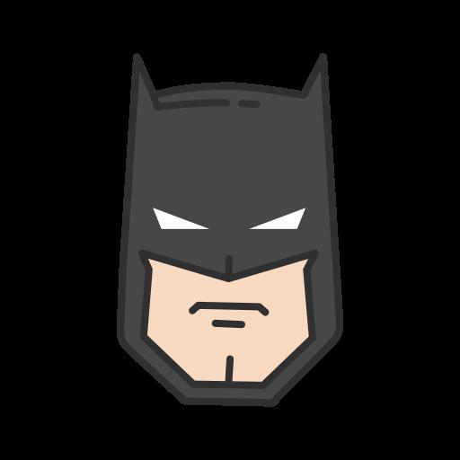 batman, dc character, hero, super hero icon