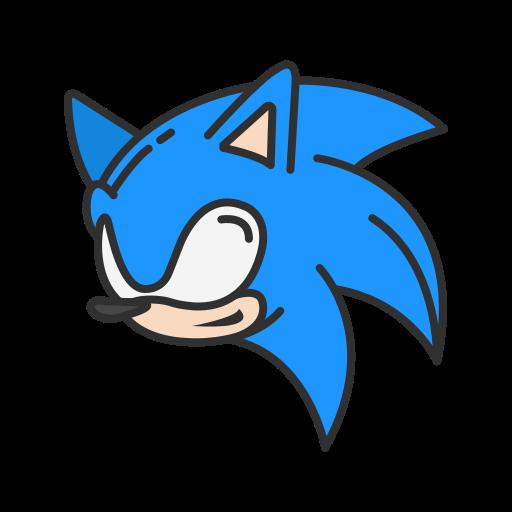 fast, sega, sonic, super sonic icon