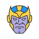 humanoid, loki, super villain, thanos icon