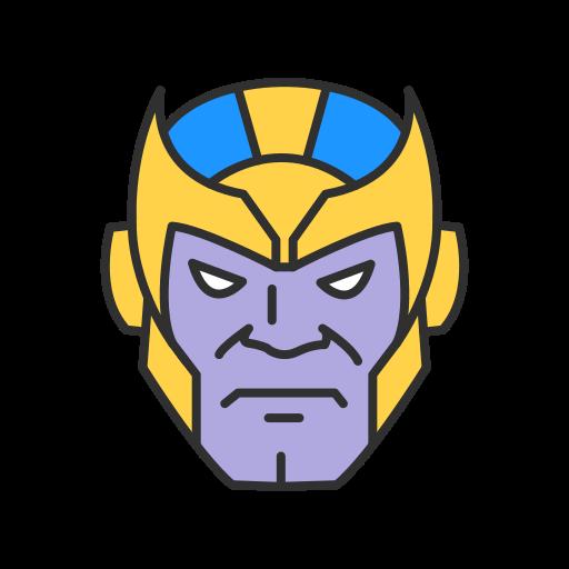 humanoid, loki, super villain, thanos icon