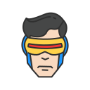 cyclops, hero, mutant, x - men icon