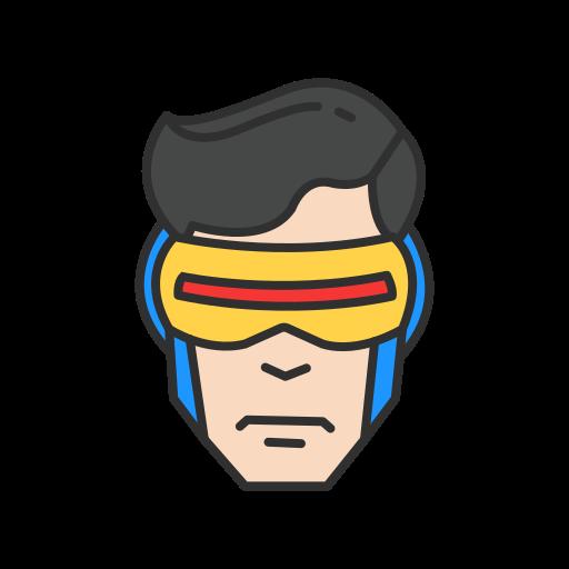 cyclops, hero, mutant, x - men icon