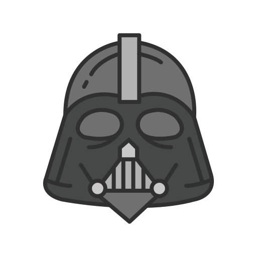 darth sidious, robot, starwars, villain icon