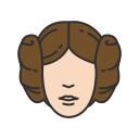 carrie fisher, lady, princess leia, starwars icon