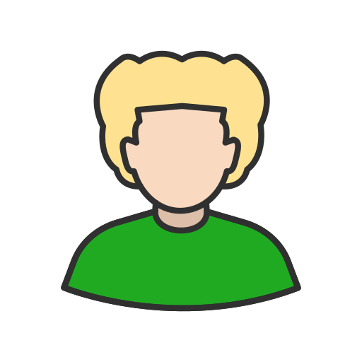 avatar, curly hair, user, woman icon