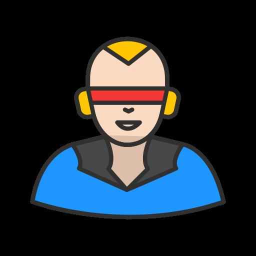 cyclops, hero, ranger, supe hero icon