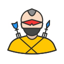 cyclops, hero, man, ranger icon