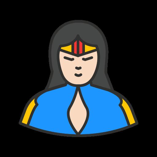 hero, super girl, super hero, wonder woman icon