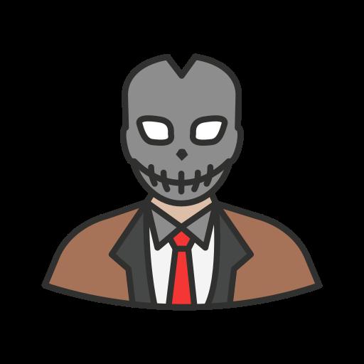 evil, goon, hoody, villain icon