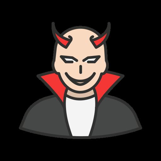 bad, devil, evil, villain icon