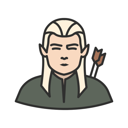 archer, elf, legolas, lord of the rings icon