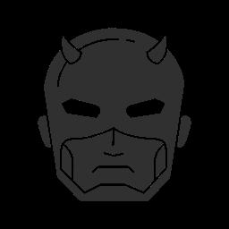 daredevil, marvel, mutant, super hero icon