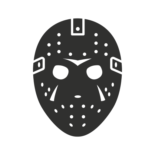 freddy, friday the 13th, jason mask, krueger icon
