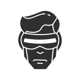 cyclops, marvel, super hero, x-men icon