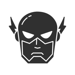 comics, dc character, flash, super hero icon