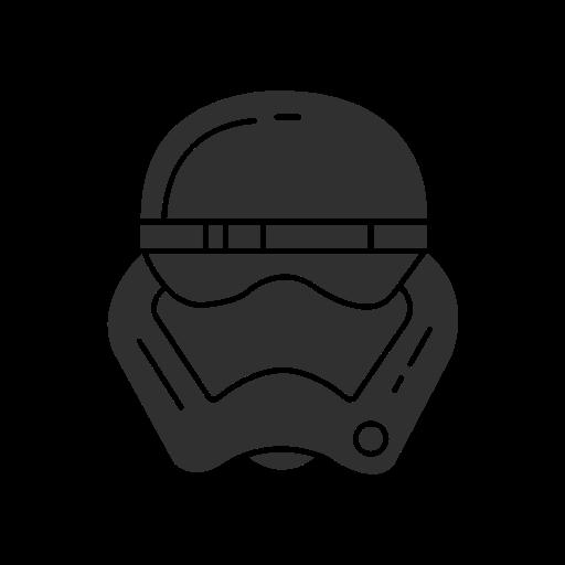 clone, driod, star wars, storm trooper icon