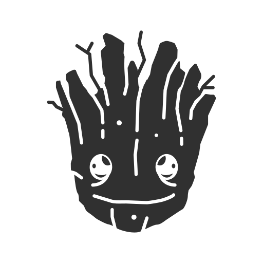 Fighting tree, groot, super hero, tree icon - Free download