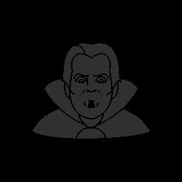 blood sucking, dracula, spooky, vampire icon