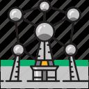 atom, atomium, belgian, belgium, brussels icon