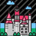 bran, castle, architecture, brasov, fortress, medieval, romania