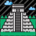 chichen, itza, maya, mayan, mexico, ruins, yucatan icon
