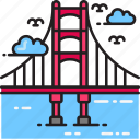 architecture, bridge, golden gate bridge, san francisco icon