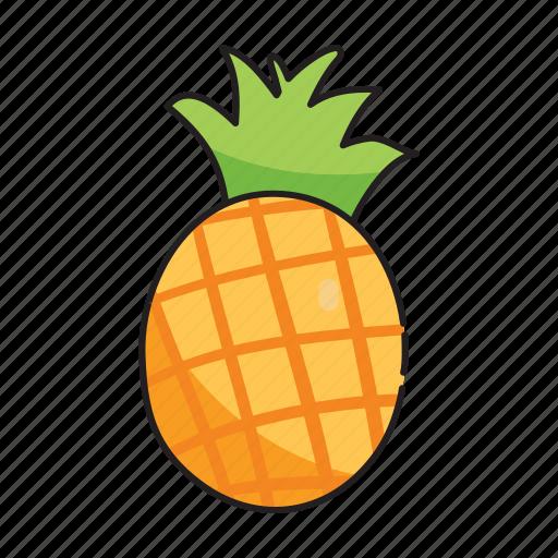 food, fruit, pineapple, vegetables icon