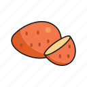 food, fruit, healthy, mango icon