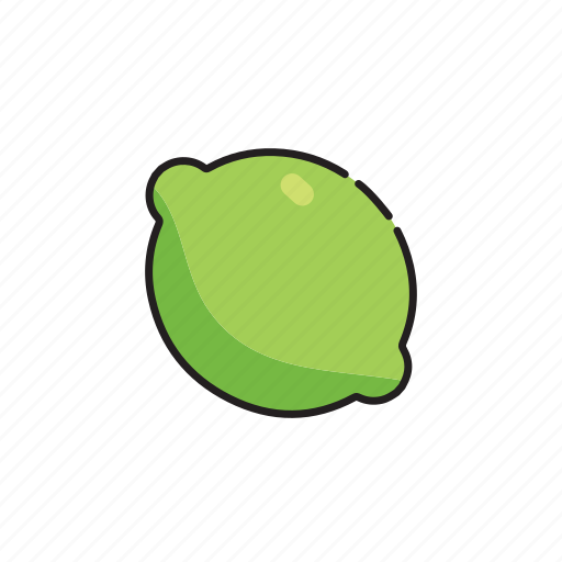 food, fruit, green, lime, vegetables icon