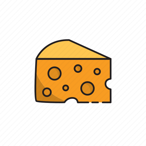 cheese, food, holes, meal, mice icon