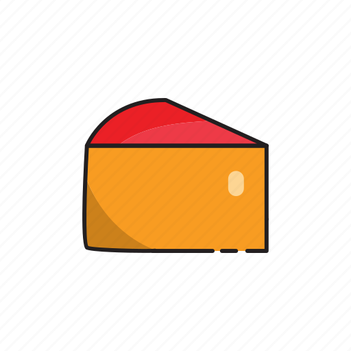 cheese, food, portion icon