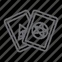 card, tarot, magic, fortune icon