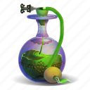 elixir, fantasy, magical, perfume, poision, potion, bottle icon