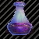 elixir, fantasy, halloween, magic, poison, potion, spooky icon