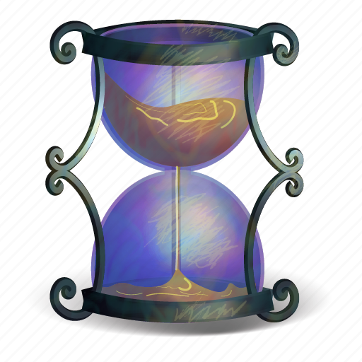 glass, halloween, minute, sand, second, time, timer icon
