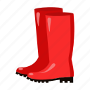 agriculture, boots, farm, footwear, garden, rubber, shoes icon